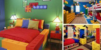 Detské izby inšpirované legom | 20 nápadov na detské izby