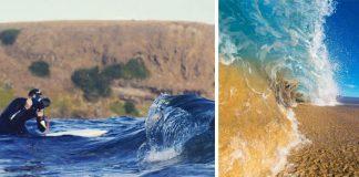 Fotografie vĺn a oceánu v rôznych náladách | Matt Burgess