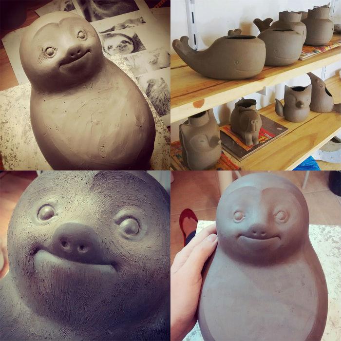 sao-paulo-keramicka-vyraba-hlinene-kvetinace-kapybara-velryba-lenochod-mravenciar-4