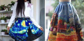 Dámske šaty inšpirované maľbami slávnych umelcov | Purple Fishbowl