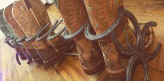 Ručne vyrobené stojany na čižmy z použitých podkov | Handmade nápady