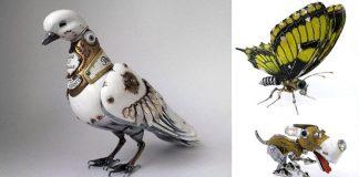 Steampunkové zvieratá zo starých súčiastok a elektroniky | Igor Verniy