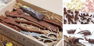 Najkreatívnejšie umelecké diela z čokolády | Čokoládové umenie
