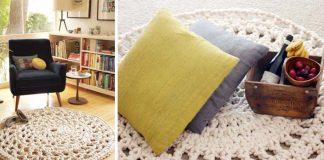Háčkované koberčeky z lana | Inšpirujte sa handmade kobercami z lana