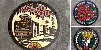 Najkrajšie poklopy na svete sú v Japonsku! Hotové umenie pod nohami