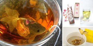 Kreatívne čajové vrecúška | 15 najkreatívnejších nápadov, ktoré vás očaria