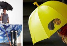 Kreatívne dáždniky, ktoré vám spríjemnia každý upršaný deň