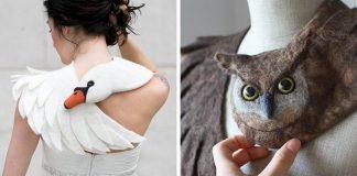 Plstené šály Celapiu vyzerajú, akoby vás zvieratá objímali okolo krku