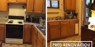 Renovácia starej kuchyne za 100 dolárov v priebehu 2 týždňov
