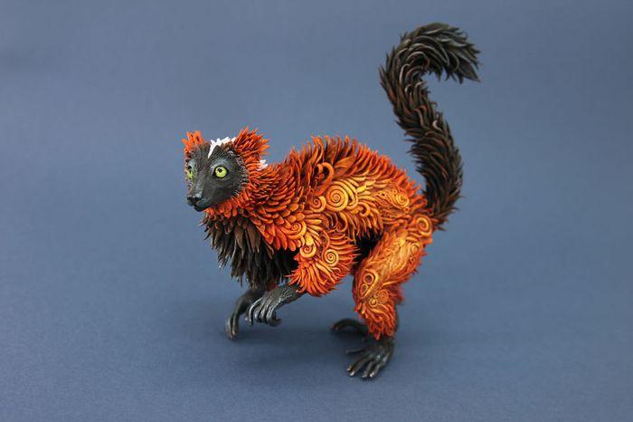 rusky-umelec-vyraba-jedinecne-sochy-z-polymerovej-hmoty-zvierata-z-magickeho-sveta-9