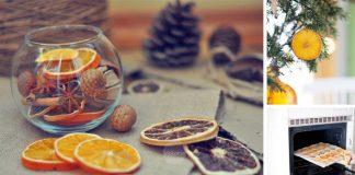 Domáce ozdoby zo sušených citrusov | 3 spôsoby ako sušiť ovocie