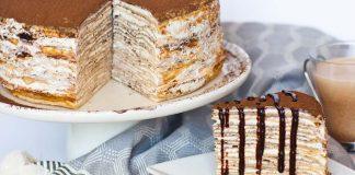 Tiramisu torta z palaciniek   Recept na tortu, ktorej rozhodne neodoláte!