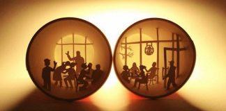 Vo vnútri pohárov na kávu vytvára prepracované scény   Anastassia Elias