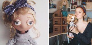 Nežné bábiky | Handmade šitá tvorba od šikovnej Daria Gulenko