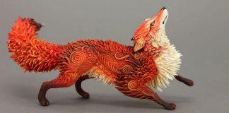 Fantastické zvieratá z polymérovej hmoty od umelca Evgeny Hontor
