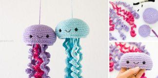 Háčkované medúzy | Roztomilý DIY nápad pre deti
