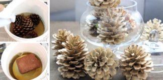 Ako vybieliť šišky | DIY nápad a návod ako postupovať