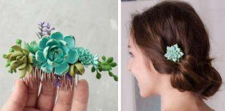 Handmade šperky inšpirované sukulentmi | Iryna Osinchuk-Chajka