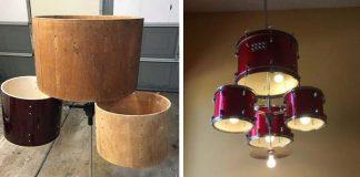 Luster z bicích | DIY nápad ako premeniť staré bicie na svietidlo