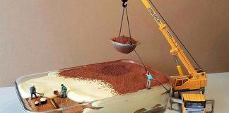 Cukrár Matteo Stucchi vytvára miniatúrne svety pomocou dezertov