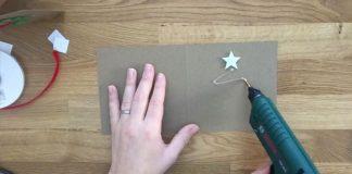 Nápady na vianočné pohľadnice | 8 nápadov s návodmi ako postupovať