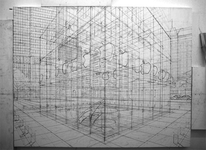 nathan-walsh-britsky-umelec-maluje-mestske-scenerie-podla-ceruzovych-nacrtov-15