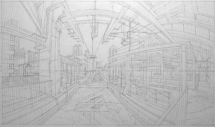 nathan-walsh-britsky-umelec-maluje-mestske-scenerie-podla-ceruzovych-nacrtov-8