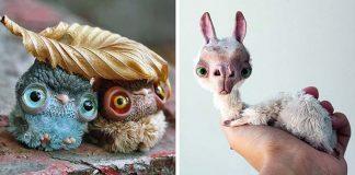 Handmade stvorenia z polymérovej hmoty | Oso Polar