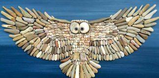 Obrazy z kameňov a piesku | Umelecké diela spod rúk Stefano Furlani