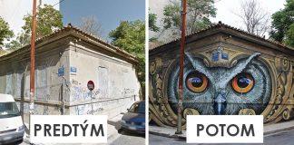 Ako street art umelci dokážu skrášliť mesto. Na nepoznanie