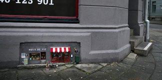 Anonymouse otvárajú malé obchodíky pre myši | V uliciach Malmö