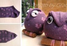 Ponožková sovička dokáže potešiť malých aj veľkých   DIY návod