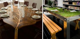 Dizajny stolov | 15 najkreatívnejších dizajnov stolov