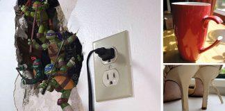 Kreatívne opravy poškodených vecí | 15 vynaliezavých nápadov #1