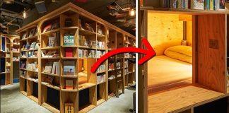 Ubytovacie kníhkupectvo v Kjóte   Kníhkupectvo a hostel v jednom