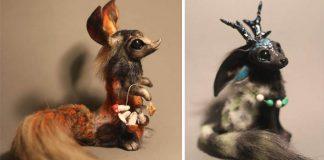 Handmade fantazijné stvorenia z polymérovej hmoty | Dmitry Lagun