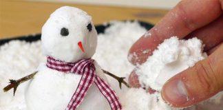 Falošný sneh si vyrobíte len z dvoch ingrediencií | Tu je návod!