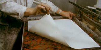 Mramorovanie papiera v roku 1970 | Umenie mramorovaného papiera