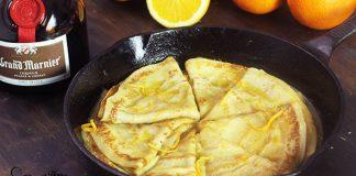 Pomarančové palacinky Crêpes Suzette | Recept, ako ich pripraviť