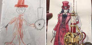 Synove kresby premieňa na anime postavičky | Thomas Romain
