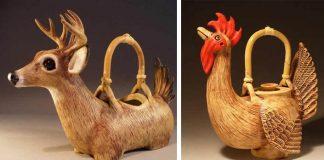 Čajníky v podobe zvierat vám nalejú horúci čaj priamo z papuľky | Christy Crews Dunn