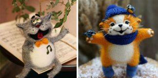 Plstené hračky zdvihnú náladu už pri prvom pohľade | Diana Latysheva