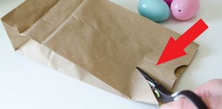 Veľkonočný balíček pre šibačov v podobe zajačika | Návod ako na to