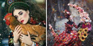 Ruská fotografka Margarita Kareva oživuje čarovný svet rozprávok
