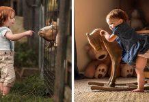 Milujúci otecko zachytáva okamihy z detstva svojich troch detí | Adrian C. Murray