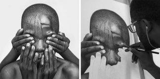 Portréty kreslené ceruzou vyzerajú lepšie ako fotografie | Arinze Stanley