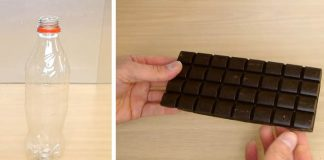 Čokoládová fľaša Coca Coly so sladkosťami vo vnútri! | Kreatívny nápad