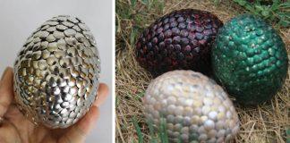 Dračie vajce | DIY nápad s návodom ako vyrobiť z pripínačiek dračie vajce