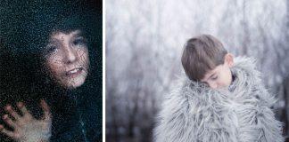 Autizmus mení na umenie prostredníctvom fotografií autistického syna
