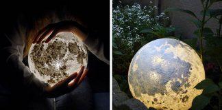 Lampy v podobe mesiaca a planét vnesú do izby kúsok vesmíru   Pulsar Moonlight